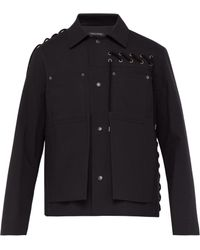 Craig Green - Laced Panel Cotton Worker Jacket - Lyst