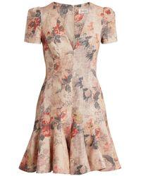 Zimmermann - Radiate Flip Floral Dress - Lyst