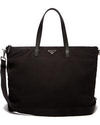 Prada - Nylon Tote Bag - Lyst