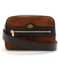 Gucci - Ophidia Small Box Vintage GG Logo Belt-bag - Lyst
