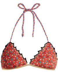 Anjuna - Crochet-trimmed Reversible Bikini - Lyst