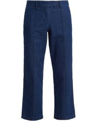 A.P.C. - Cooper Cotton Pintuck Jeans - Lyst