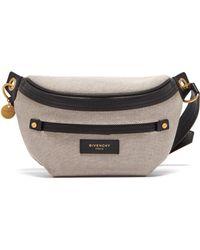 Givenchy - Whip Belt Bag Canvas Black - Lyst