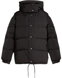 Burberry - Veste à capuche et manches amovibles Plymton - Lyst