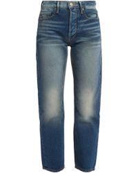 FRAME - Le Original High-rise Straight-leg Jeans - Lyst