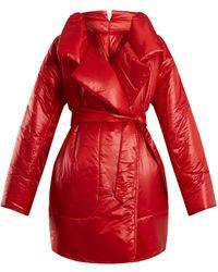 Norma Kamali - Sleeping Bag Knee Length Coat - Lyst