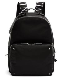 Valentino - Vltn Nylon Backpack - Lyst