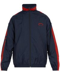 Perry Ellis - America Embroidered Zip Up Track Jacket - Lyst