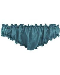 Loup Charmant - Bloomer Silk Briefs - Lyst