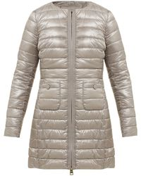Herno - Quilted Down Filled Coat - Lyst