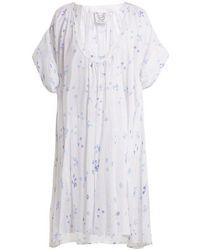 Thierry Colson - Shanta Floral-print Cotton Dress - Lyst