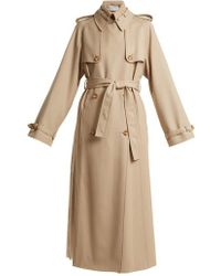 Gabriela Hearst - Lorna Double-breasted Wool Trench Coat - Lyst
