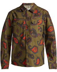 Toga - Paisley Long Sleeve Button Down Shirt - Lyst