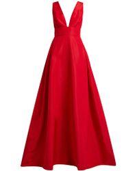 Carolina Herrera - Callie Silk Faille Gown - Lyst