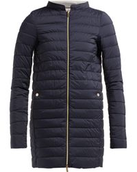 Herno - Quilted Down Coat - Lyst