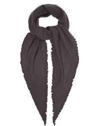 Allude - Fine-knit Cashmere Scarf - Lyst