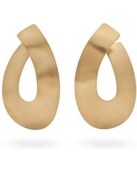 Fay Andrada - Taka Curved Brass Earrings - Lyst