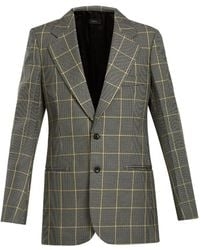 JOSEPH - Grimaud Prince Of Wales Checked Jacket - Lyst