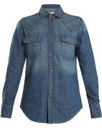 Eve Denim - Margaret Denim Shirt - Lyst