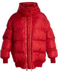 Stella McCartney - Detachable-hood Quilted Jacket - Lyst