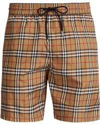 Burberry - Vintage Check Swim Shorts - Lyst