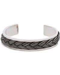 Emanuele Bicocchi - Skull Onyx 925 Sterling-silver Bracelet - Lyst