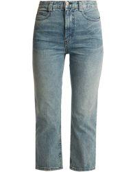 Rachel Comey - Norm Slim Leg Cropped Jeans - Lyst