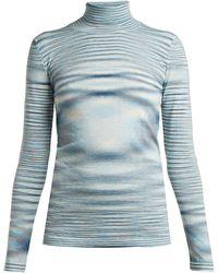 Missoni - Space Dye Wool Roll Neck Sweater - Lyst