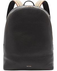 Paul Smith - Signature Stripe Leather Backpack - Lyst