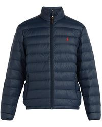 Polo Ralph Lauren - Quilted Down Filled Jacket - Lyst