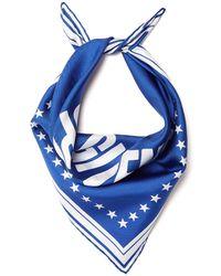 Givenchy - Logo-print Silk-twill Scarf - Lyst