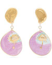 Sonia Boyajian - Seeing Pink Eye Ceramic Earrings - Lyst