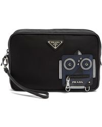 Prada | Nylon Washbag | Lyst