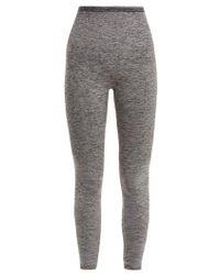 LNDR - - Seven Eight Compression Seamless Leggings - Womens - Grey - Lyst