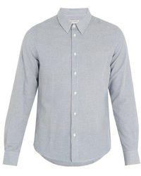 Éditions MR - St. Germain Striped Cotton-blend Shirt - Lyst