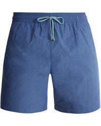 Stella McCartney - Straight Leg Swim Shorts - Lyst