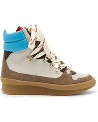 Isabel Marant - Brendta Leather And Suede Boots - Lyst