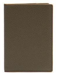 Smythson - Burlington Grained-leather Passport Holder - Lyst