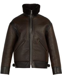 Lemaire - Shearling Jacket - Lyst