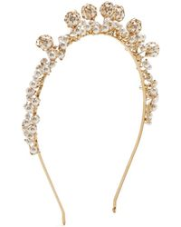 Rosantica By Michela Panero - Bouquet Pearl-embellished Headband - Lyst