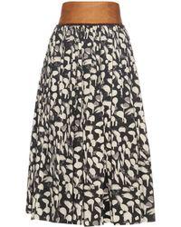 Sophie Theallet - Lupita Cotton Skirt - Lyst
