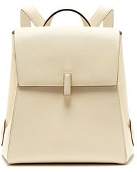 Valextra - Iside Saffiano Leather Backpack - Lyst