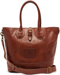 Polo Ralph Lauren - Heritage Tumbled Leather Tote Bag - Lyst