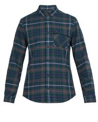 Aztech Mountain - Loge Peak Checked Cotton Shirt - Lyst