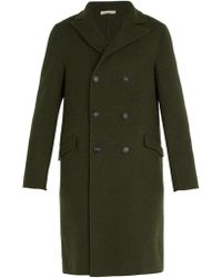 Massimo Alba - Double Breasted Wool Coat - Lyst
