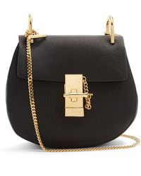 Chloé - Drew Mini Leather Cross-body Bag - Lyst