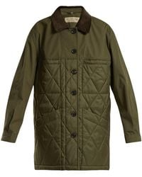 Burberry | Shell Quilted Jacket | Lyst