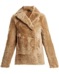 JOSEPH - Hector Shearling Jacket - Lyst