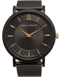 Larsson & Jennings - Norse 18kt Gold Plated Stainless Steel Watch - Lyst