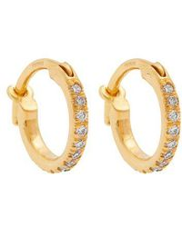Ileana Makri - Diamond & Yellow-gold Earrings - Lyst